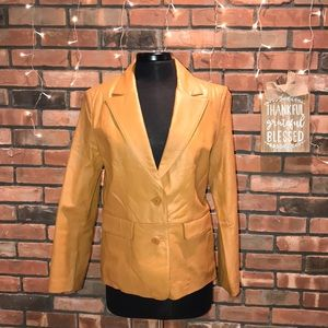 Bagatelle Brown Leather Jacket Great for Fall